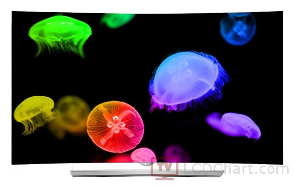 "LG 55"" Curved OLED 4K Smart TV / 55EG9600"