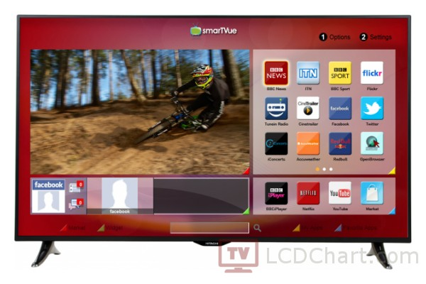 "Hitachi 55"" Full HD LED TV / 55HZT66U"