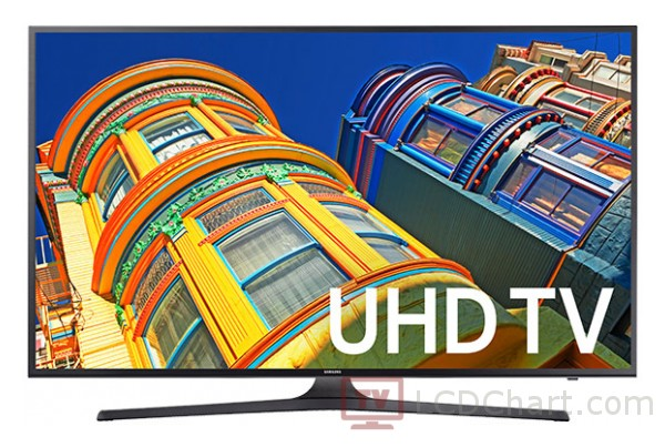 "Samsung 40"" 4K Ultra HD Smart LED TV / UN40KU6300"