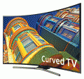 "Samsung 49"" Curved 4K Ultra HD Smart LED TV / UN49KU6500 photo"