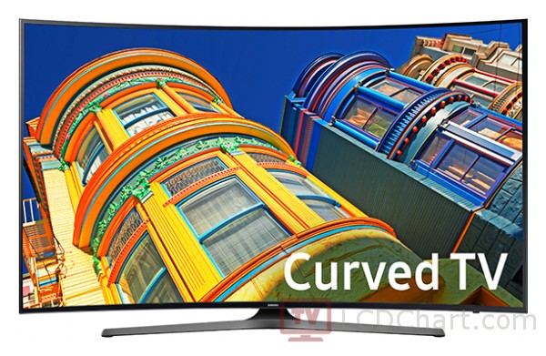 "Samsung 55"" Curved 4K Ultra HD Smart LED TV / UN55KU6500"
