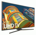 "Samsung 65"" 4K Ultra HD Smart LED TV / UN65KU6300 photo"