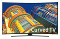 "Samsung 65"" Curved 4K Ultra HD Smart LED TV (UN65KU6500)"