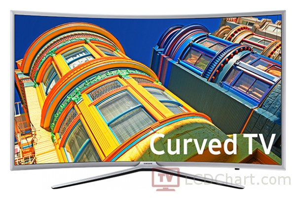 "Samsung 55"" Curved 1080p Smart LED TV / UN55K6250"