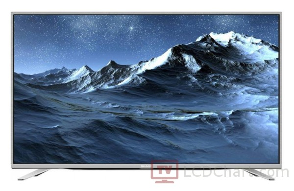 "Sharp 55"" 4K Ultra HD Smart LED TV / LC-55CUF8462ES"