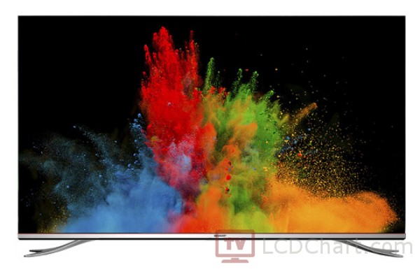 "Sharp 65"" Aquos 4K Ultra HD Smart TV / LC-65XUF8772ES"