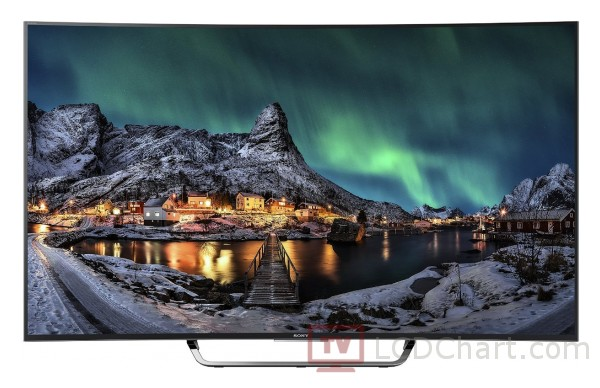 "Sony 55"" Curved 4K Ultra HD Smart LED TV / KD55S8005C"