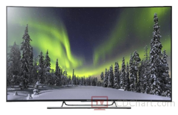 "Sony 65"" Curved 4K Ultra HD Smart LED TV / KD65S8505C"