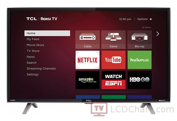 "TCL 40"" Full HD Smart LED TV / 40FS3850"