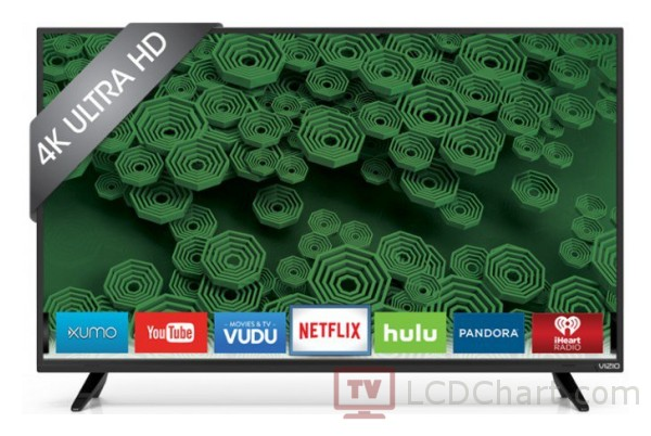 "Vizio 40"" 4k Ultra HD Smart LED TV / D40u-D1"