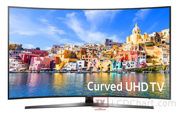"Samsung 49"" Curved 4K Ultra HD Smart LED TV / UN49KU7500"