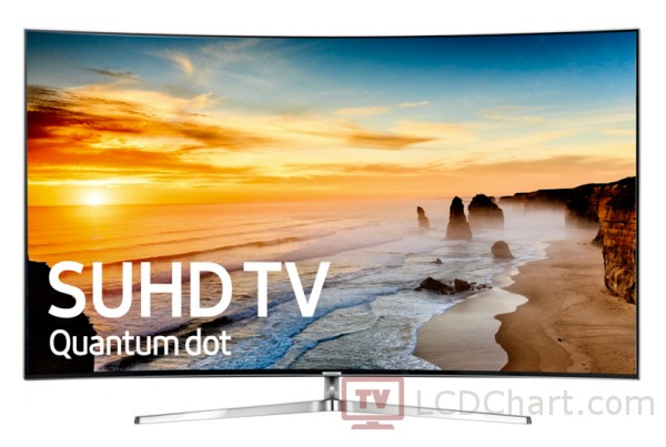 "Samsung 55"" Curved 4K Ultra HD Smart LED TV / UN55KS9500"