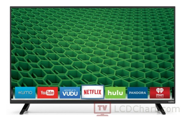 "Vizio 48"" Full HD Smart LED TV / D48-D0"