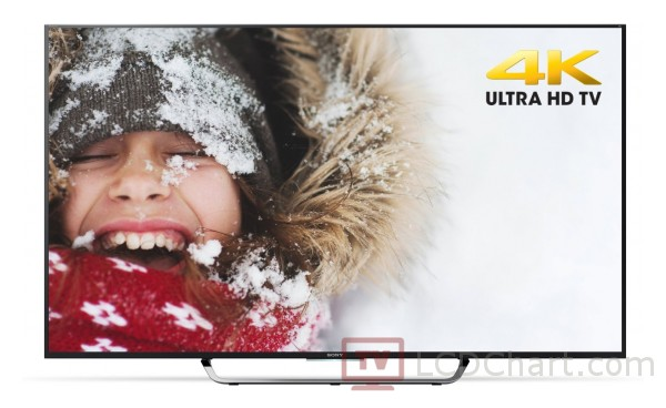 "Sony 65"" 4K Ultra HD 3D Smart LED TV / XBR65X850C"