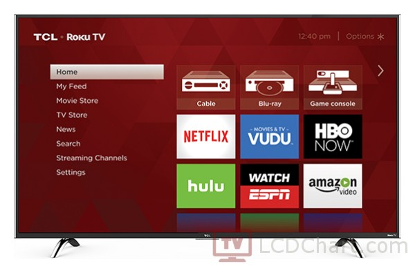 "TCL 49"" 1080p Roku Smart LED TV / 49FP110"