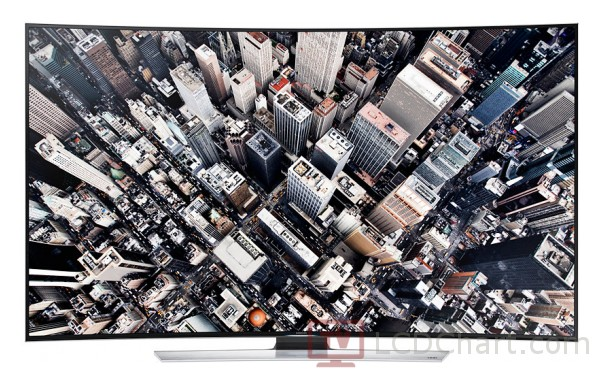 "Samsung 55"" Curved 4K Ultra HD 3D Smart LED TV / UN55HU9000"
