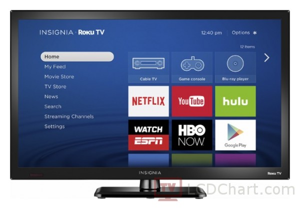 "Insignia 24""  HD Smart TV / NS-24ER310NA17"