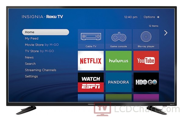 "Insignia 48"" Full HD Roku Smart LED TV / NS-48DR510NA17"