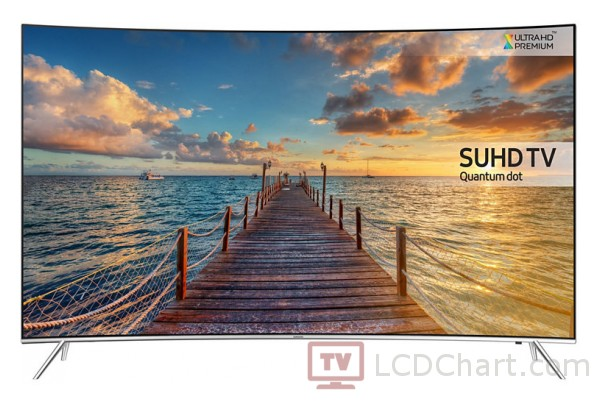 "Samsung 43"" Curved Quantum DOt 4K UHD Smart LED TV / UE43KS7500"