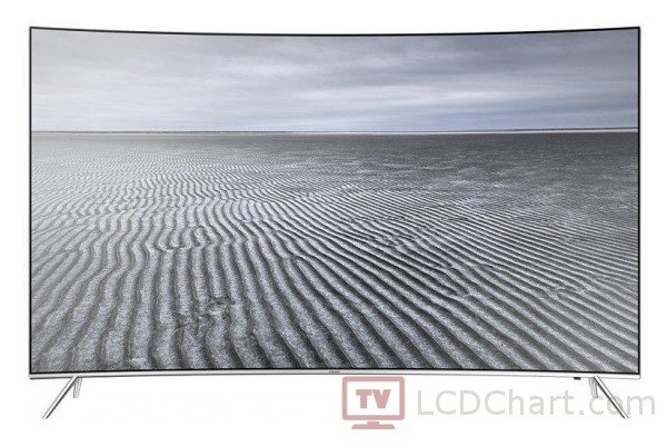 "Samsung 55"" Curved 4K Ultra HD Smart LED TV / UE55KS7500"