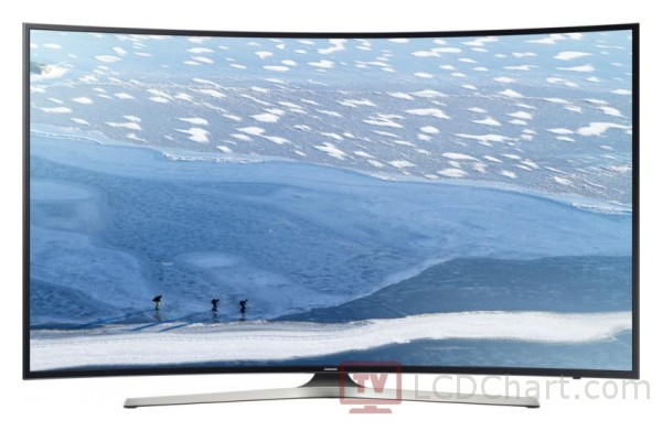 "Samsung 55"" Curved 4K Ultra HD Smart LED TV / UE55KU6172"