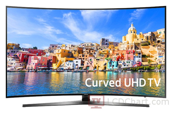"Samsung 55"" Curved 4K Ultra HD Smart LED TV / UN55KU750D"
