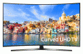 "Samsung 55"" Curved 4K Ultra HD Smart LED TV (UN55KU750D)"