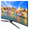 "Samsung 55"" Curved 4K Ultra HD Smart LED TV / UN55KU750D photo"