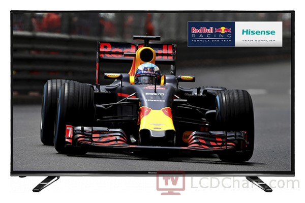 "Hisense 50"" 4K Ultra HD Smart LED TV / H50M3300"