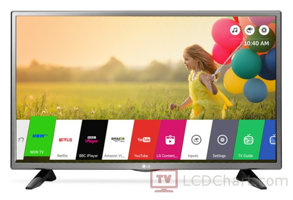 "LG 32"" HD Smart LED TV / 32LH570U"