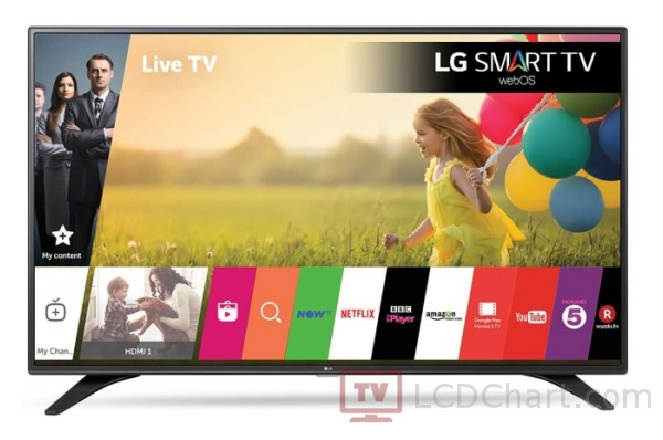 "LG 43"" Full HD Smart LED TV / 43LH604V"