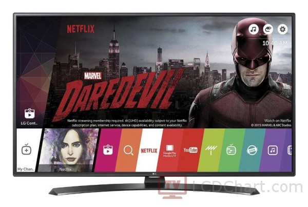 "LG 43"" Full HD Smart LED TV / 43LH630V"