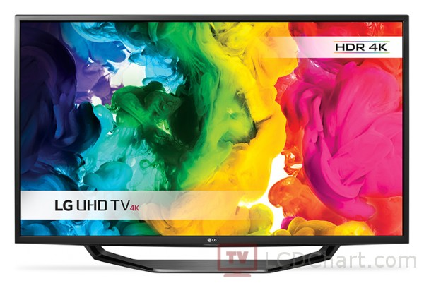"LG 43"" 4K Ultra HD Smart LED TV / 43UH620V"