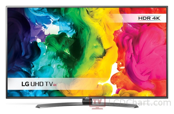 "LG 43"" 4K Ultra HD Smart LED TV / 43UH661V"
