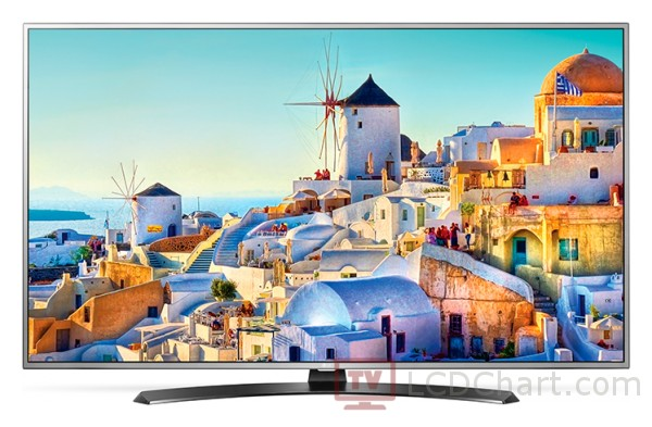"LG 49"" 4K Ultra HD Smart LED TV / 49UH668V"