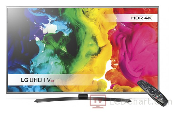"LG 65"" 4K Ultra HD Smart LED TV / 65UH668V"